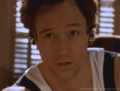 Watch and share Gif From The West Wing Of Josh Lyman Looking Exhausted And Hung Over GIFs on Gfycat