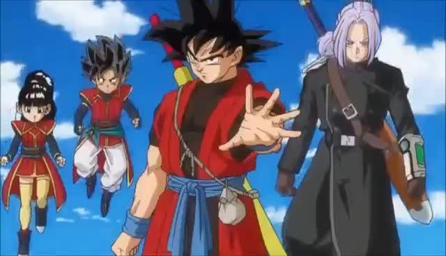 Super Dragon Ball Heroes Trailer 6 Cell X False Ssb Trunks Ssj 3 Xeno Goku