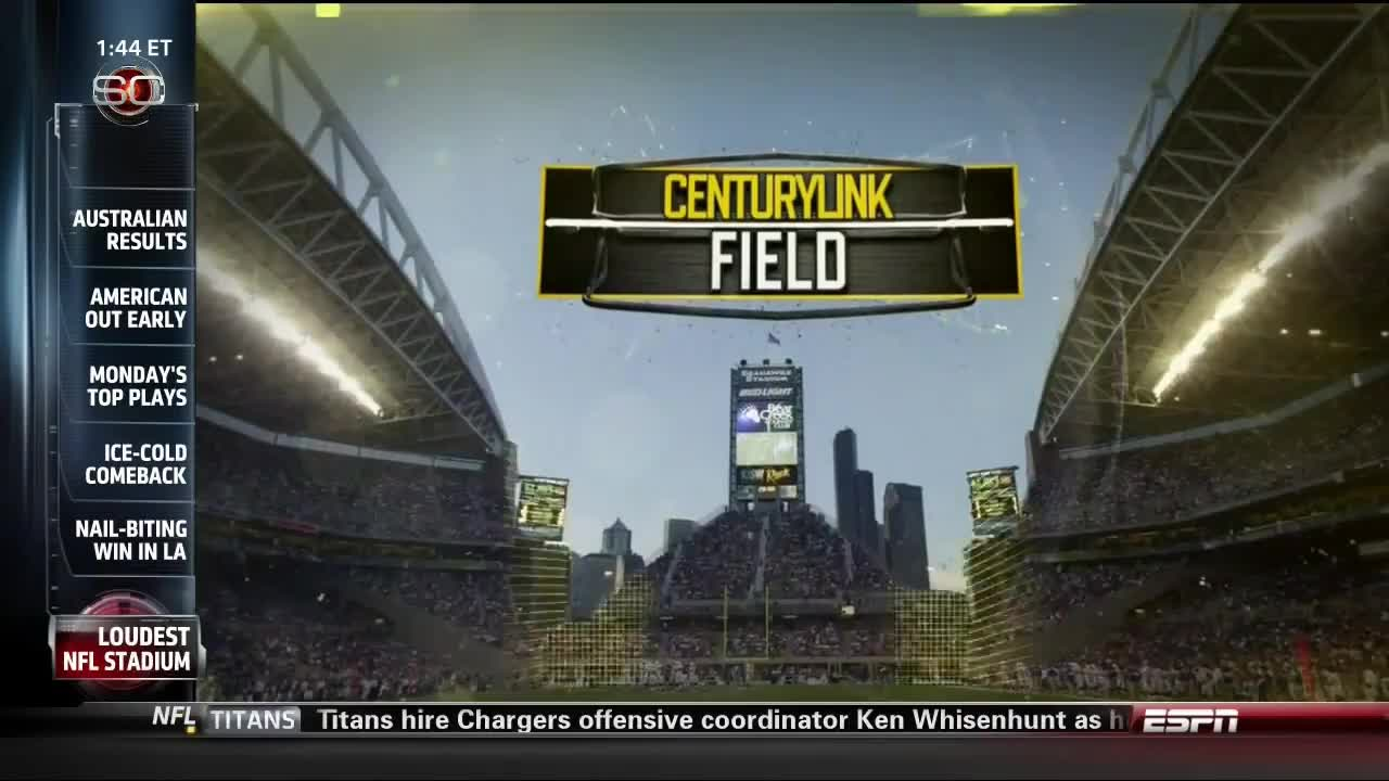 12TH, 12thman, All Tags, CenturyLInk, SCIENCE, Seahawks, Sports, clink, loud, man, seattle, sportsscience, Sports Science Seahawks CenturyLink GIFs