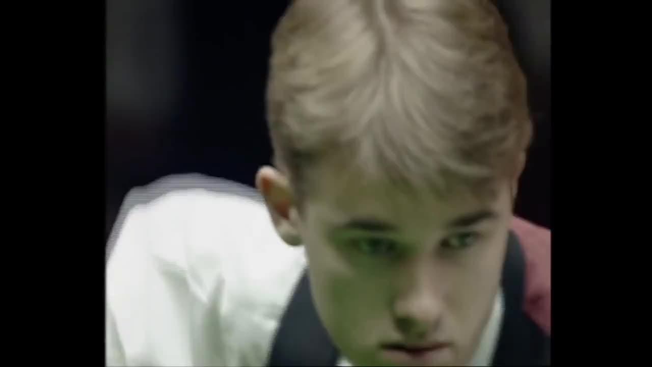 snooker, Stephen Hendry Incredible Comeback to win 1991 Masters GIFs