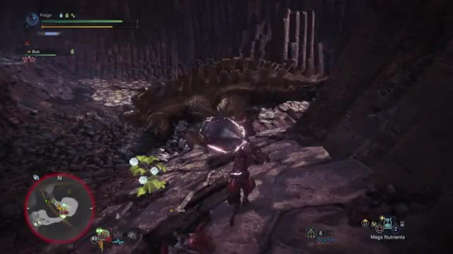 Watch this trending GIF on Gfycat. Discover more PS4share, Cross Counter, Hammer, Monster Hunter, Monster Hunter: World, PlayStation 4, Slide, Sony Interactive Entertainment, Spin, Uragaan GIFs on Gfycat