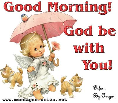 Watch and share Good Morning God Be With You animated stickers on Gfycat