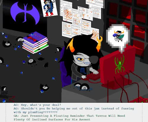 Watch and share Event Parallel GIFs and Aradia Megido GIFs on Gfycat