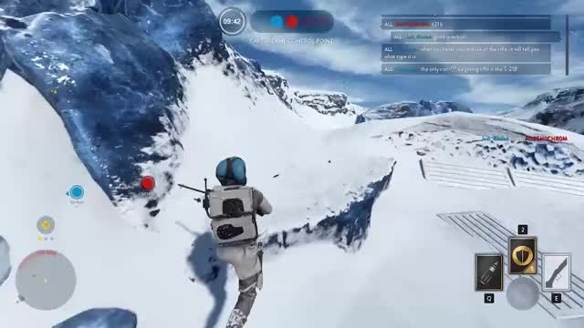 "Watch ""I'll save you AT-ST!"" GIF on Gfycat. Discover more starwarsbattlefront GIFs on Gfycat"