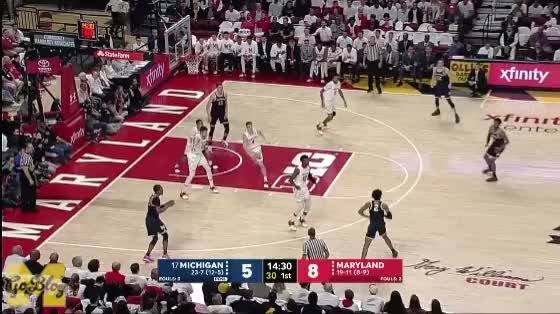 Watch and share Moritz Wagner GIFs and Basketball GIFs by MGoBlog on Gfycat