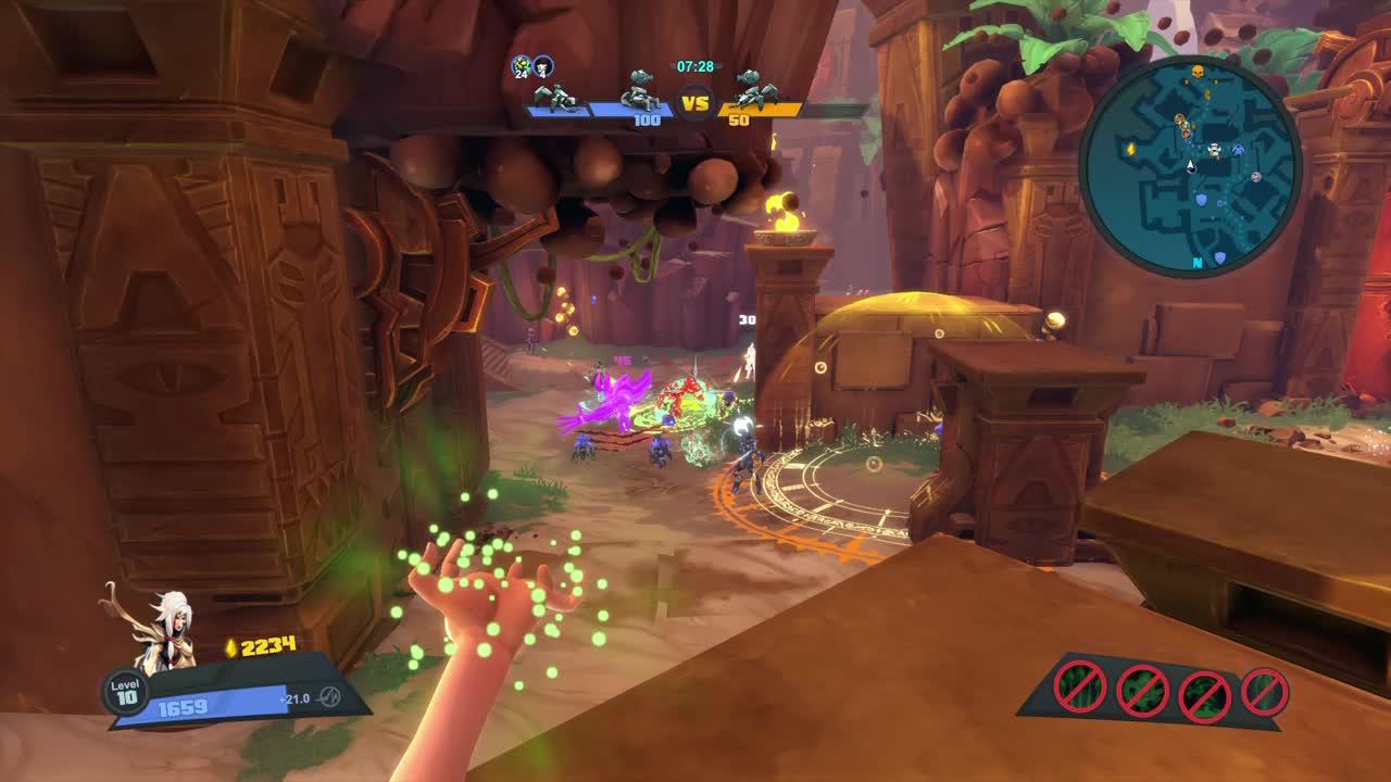 Battleborn, Gaming, I'm alive, You missed, jump, Battleborn - Jump > Marquis' ult GIFs