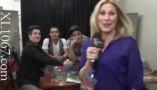 Watch Logan GIF on Gfycat. Discover more big time rush, interview, logan henderson GIFs on Gfycat