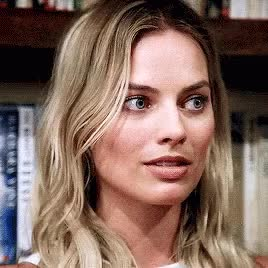 Watch and share Margot Robbie GIFs and Head Nod GIFs on Gfycat