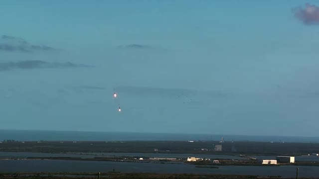 Watch Falcon Heavy & Starman GIF on Gfycat. Discover more related GIFs on Gfycat