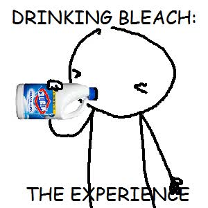 Watch drinking bleach GIF on Gfycat. Discover more related GIFs on Gfycat