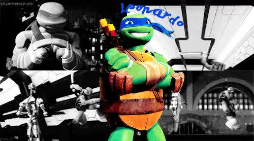 Watch and share Michelangelo Hamato GIFs and Leonardo Hamato GIFs on Gfycat
