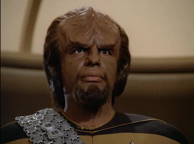 Watch and share Worf GIFs and Tng GIFs by tyrone leon smif on Gfycat