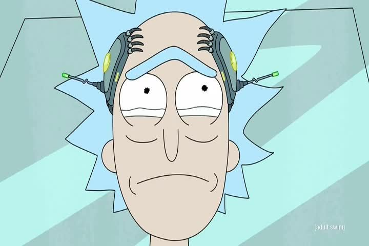 rickandmorty, rickandmortyGIFs, rickandmortygifs, Rick's allergic to dipshits GIFs