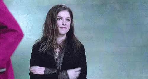 Watch and share Anna Kendrick GIFs and Blow Kiss GIFs by Reactions on Gfycat