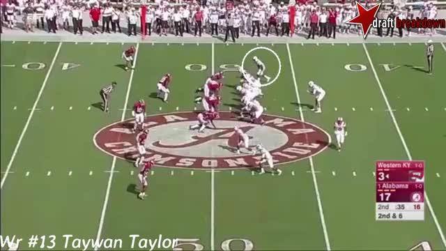 Watch and share Taywan Taylor Vs Alabama(2016) GIFs on Gfycat