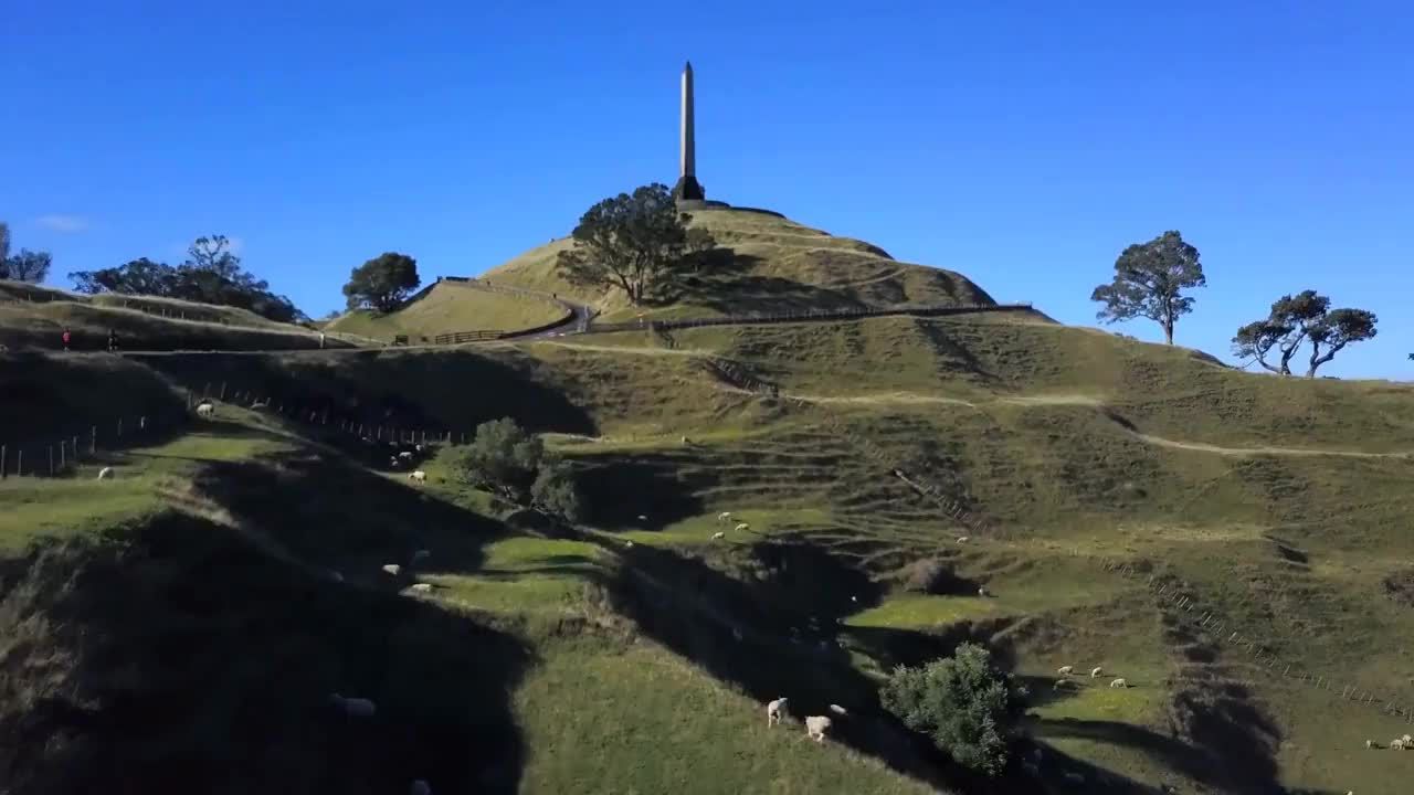 FLYING A DRONE UP ONE TREE HILL | Life In New Zealand GIFs