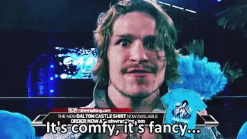 Watch and share Dalton Castle GIFs and Ring Of Honor GIFs on Gfycat