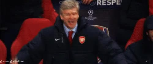 All-time favourite Pat Rice .gif : Gunners GIFs