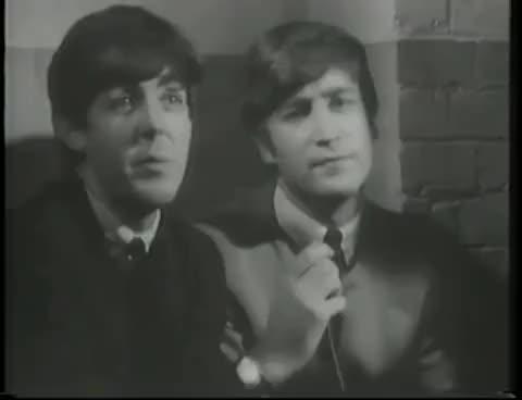 Watch and share Paul Mccartney GIFs and John Lennon GIFs on Gfycat