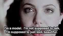 Watch and share Gia Marie Carangi GIFs and Angelina Jolie GIFs on Gfycat
