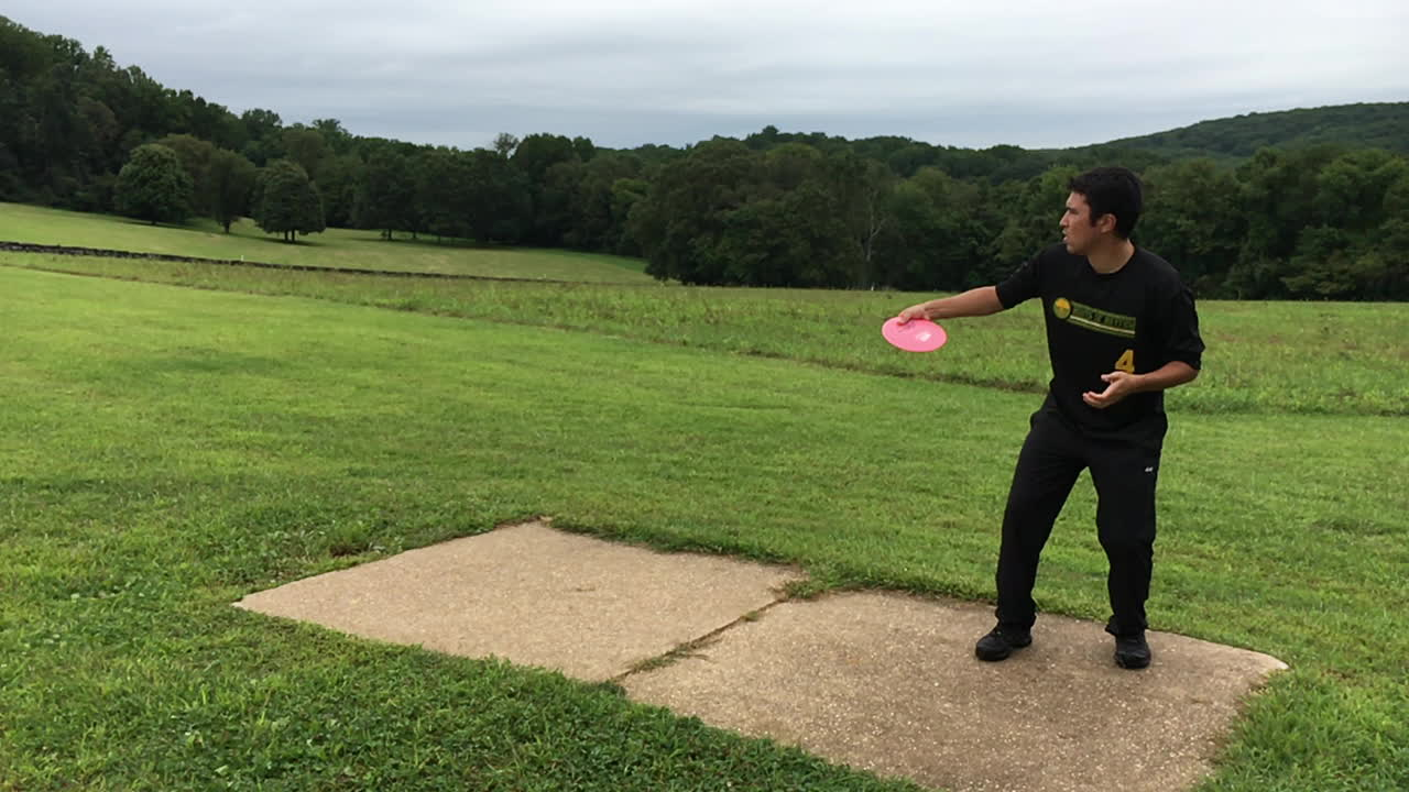 discgolf, Driving Form (Destroyer, Brandywine Hole 9) GIFs