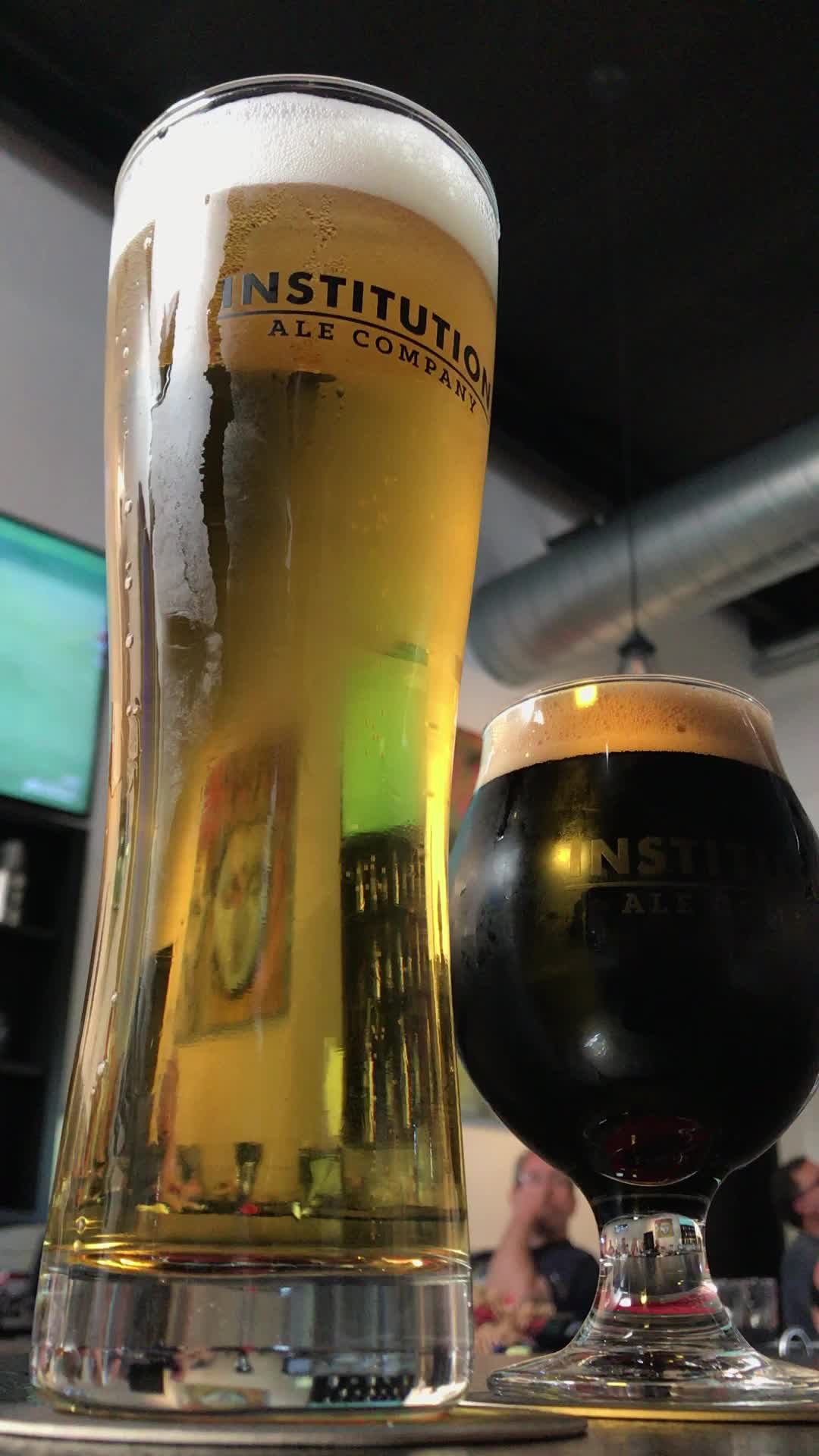 beer, institution, Institution Batch 322 Brut IPA and Dead Streets Stout GIFs