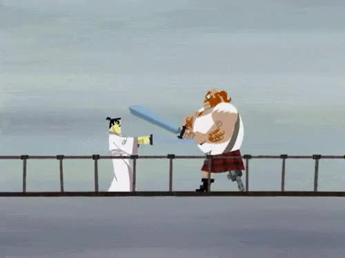 Watch and share Samuraijack GIFs and Thescotsman GIFs on Gfycat