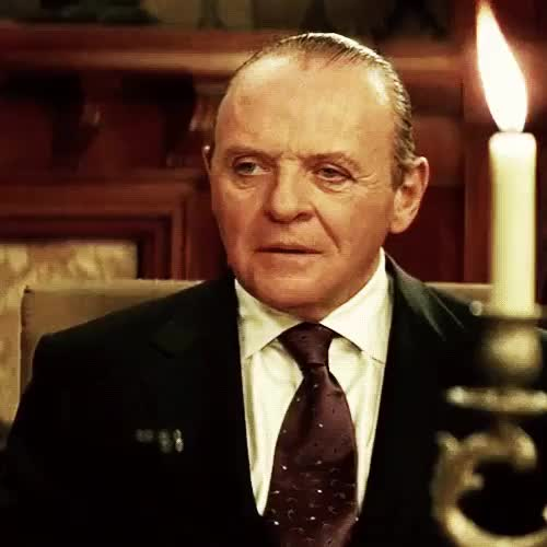 Watch and share Anthony Hopkins GIFs and Smile GIFs on Gfycat