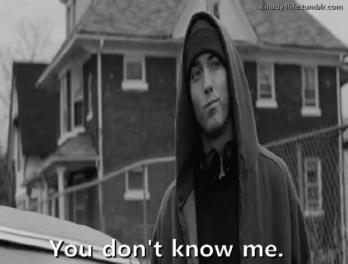 Watch and share Don't Know Me GIFs and Eminem GIFs on Gfycat