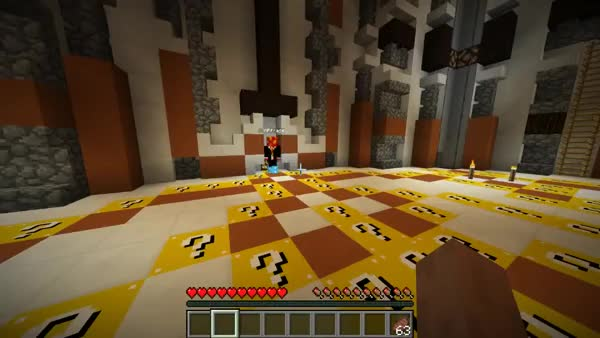 Minecraft Lucky Block SPLEEF Spaceship #3 with Vikkstar, Mitch, Lachlan, Preston & Rob! (reddit)