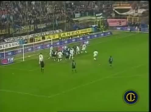 Watch and share Inter-Juve - GOL DI TOLDO GIFs on Gfycat