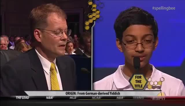 Watch and share Spelling-bee GIFs on Gfycat