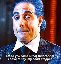 Watch and share Caesar Flickerman GIFs and Devil Wears Prada GIFs on Gfycat