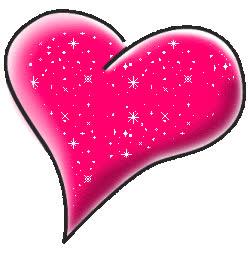 glitter, glow, heart, hearts, i, love, pink, romantic, sparkle, sweet, ya, you, Pink Heart GIFs