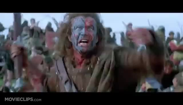 Watch this trending GIF on Gfycat. Discover more Braveheart, war GIFs on Gfycat