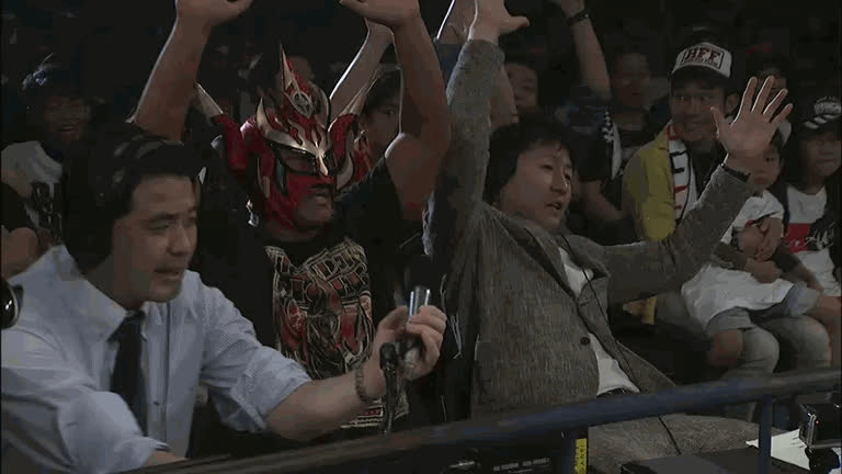 NJPW Wrestling Toyonokuni 2017 - 29.04.2017 GIFs