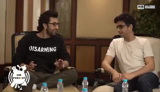 Watch and share AIB Podcast : Feat. Ranbir Kapoor (Part 01) GIFs on Gfycat