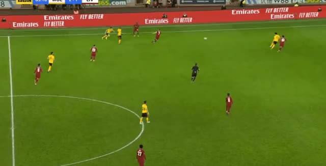 Watch and share Ki-Jana Hoever Speed + Dribble Run + Short Pass Vs Wolves 18-19 GIFs by FIFPRO Stats on Gfycat