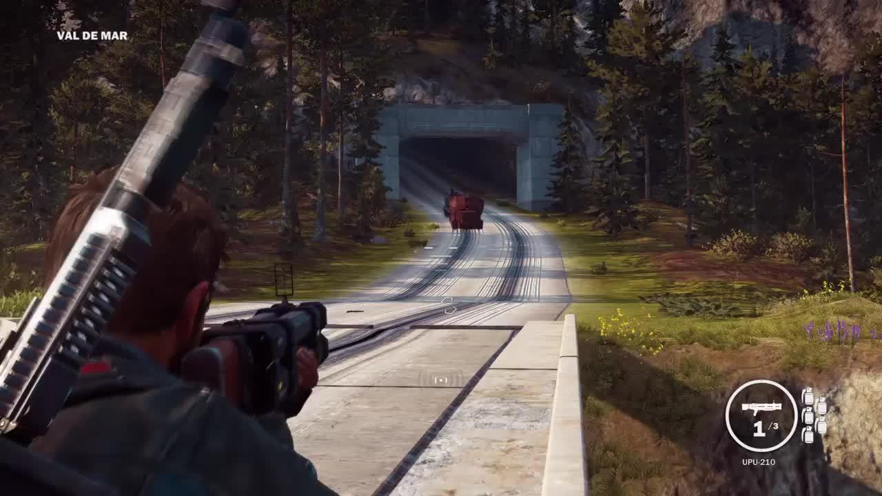 gaming, playstation 4, sony computer entertainment, JC3 | Trains... GIFs