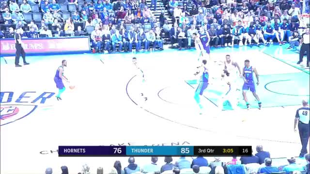 Watch and share Charlotte Hornets GIFs and Basketball GIFs by denebula on Gfycat