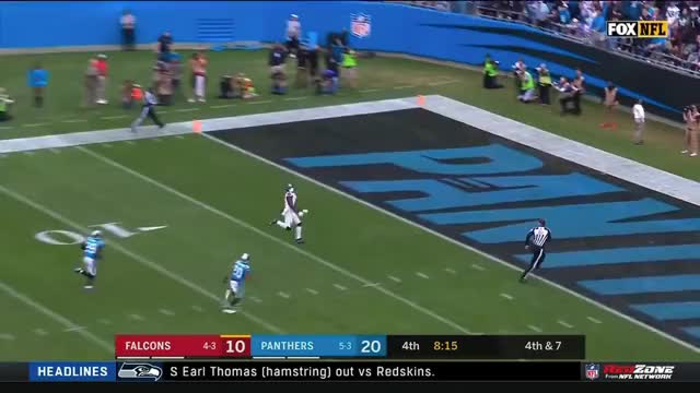 Watch and share Julio Jones Unbelievable Dropped Pass | Falcons Vs. Panthers | NFL GIFs on Gfycat