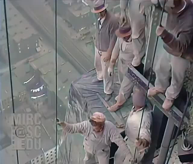 Watch and share Construction Workers On The Chrysler Building (1929) GIFs by drjsfro on Gfycat