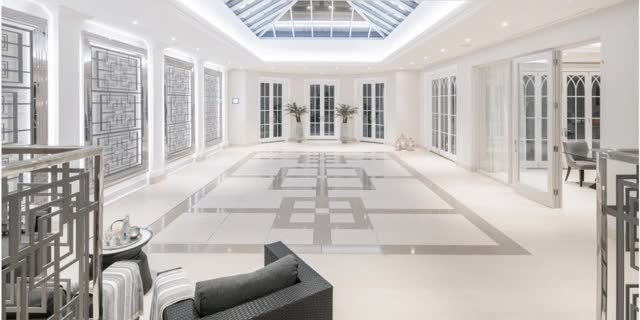 Watch and share Landscape Whitelands Country Estate Swimming Pool Under Ballroom Floor GIFs on Gfycat