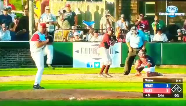 Watch and share College Baseball GIFs and All Star Game GIFs by Ely Sussman on Gfycat