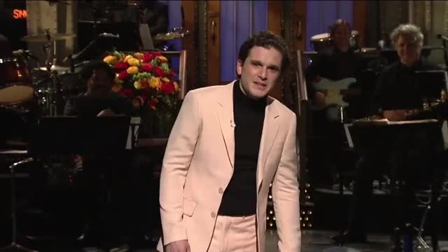 Watch and share Saturday Night Live GIFs and Kit Harington GIFs by lovemaker on Gfycat