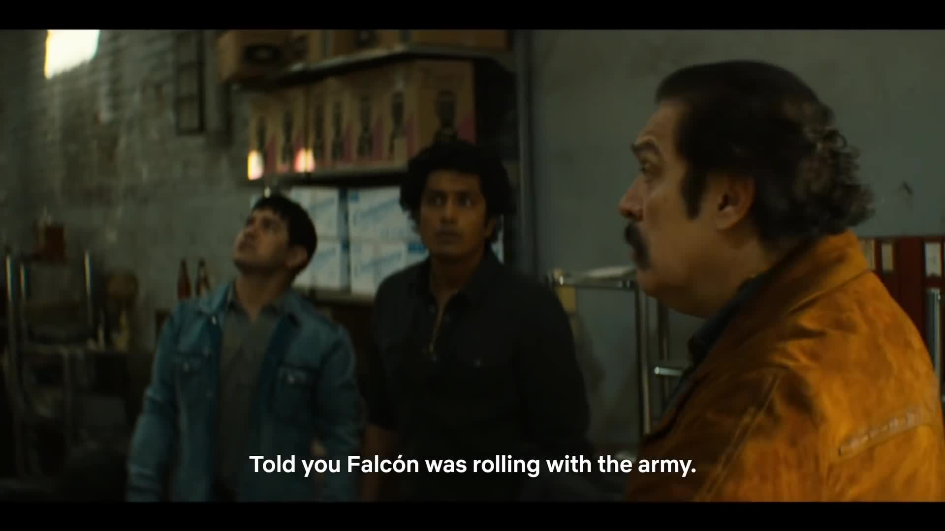 cocaine, colombia, crazy, dea, drugs, epic, mexico, narcos, pablo, weed, Narcos: Mexico - Military shootout scene GIFs