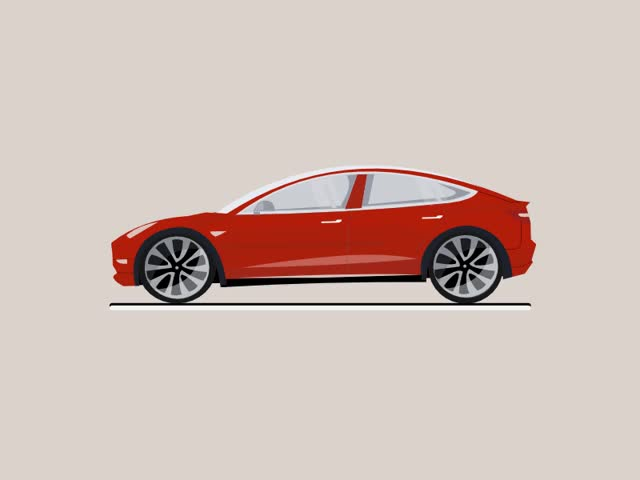 Watch and share Tesla Model Dribbble GIFs on Gfycat