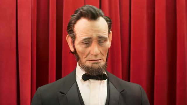 Watch and share Abraham Lincoln GIFs and Garner Holt GIFs on Gfycat
