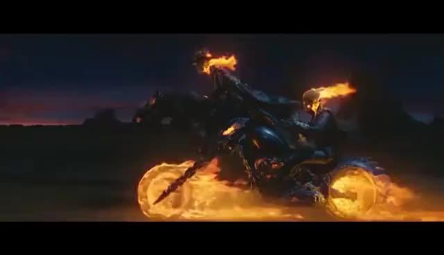 johnny blaze and carter slade ride