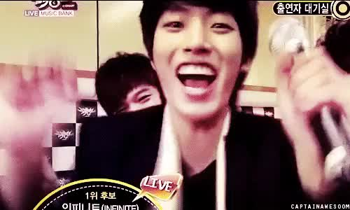 Watch and share Infinite Sungyeol GIFs and Infinite Dongwoo GIFs on Gfycat